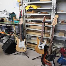 ギタークラフト・リペア室