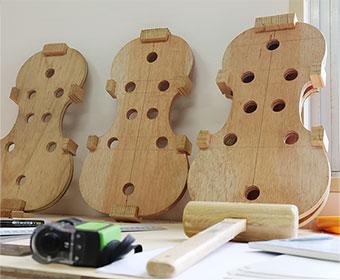 ヴァイオリン製作の画像